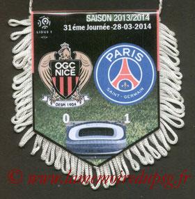 Fanion  Nice-PSG  2013-14