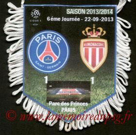 Fanion  PSG-Monaco  2013-14