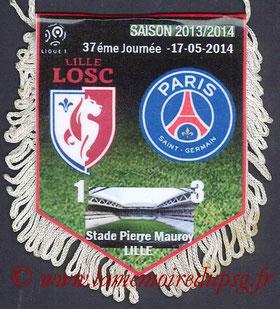 Fanion  Lille-PSG  2013-14