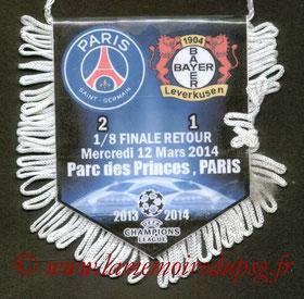 Fanion  PSG-Bayer Leverkusen  2013-14