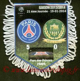 Fanion  PSG-Nantes  2013-14