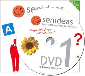 DVD mit Beschäftigungsideen, Senioren aktivieren.