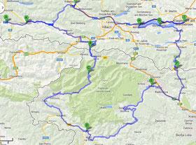 Route Tour 3