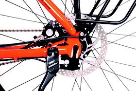 Die Bremsscheiben der Downhillbremse von Hope sind eine Eigenentwicklung von Idworx