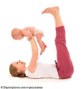 Rückbildungskurs mit Kind