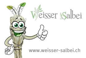 Weisser Salbei - Ausräuchern mit Räucherbündel