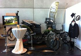 Hochzeitskutsche auf der Hochzeitsmesse in Rostock