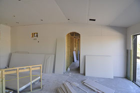Drywalling Kitchen