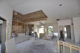 Drywalling Greatroom