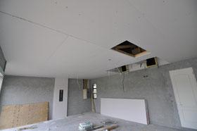 Drywalling Garage