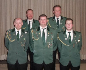 Von links: Stefan Brink, Andreas Rojer, Markus Völlering, Manfred Leigers und Thomas Kötting