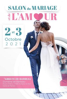 Le Salon du Mariage et de l'Amour du pays de Fontainebleau à Fontainebleau Le Port 02 et 03 Octobre 2021