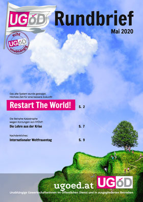 UGÖD-Rundbrief Titelseite 5/2020
