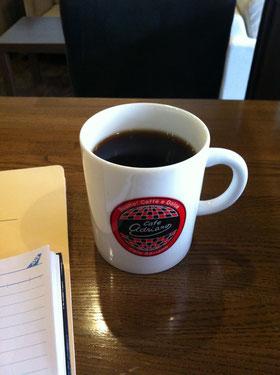 本日のコーヒーは深煎り、浅煎り、と選べます。