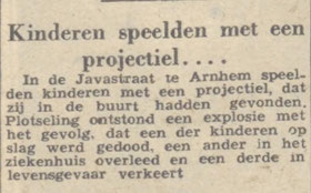 18-9-1954 Arnhemsche Courant