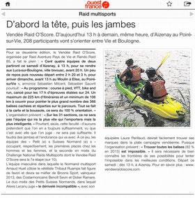 Ouest France du 13 juin 2015