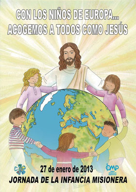 Cartel de la Infancia Misionera 2013