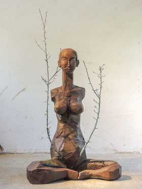 Fisigaria II, Bronze, 2017, Höhe 231 cm, Unikat