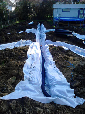 drainage pelouse