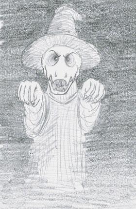 Ich habe mich auch mal daran versucht, Äh Püh zu zeichnen...