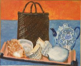 海の思い出 油彩15号