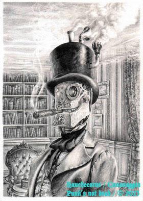 Punk's not Dead - Illustration 5/13 - Les Gentlemen à manivelle