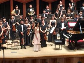 8月6日響ホールにて、オーケストラの皆さんとベートーヴェンのピアノ協奏曲第5番・皇帝を演奏しました。演奏会を迎えられる感謝の気持ちと、切ないほどベートーヴェンが愛しい気持ちでいっぱいでした。会場にお越し下さった皆様、お手紙やメッセージで応援して下さった皆様、本当にありがとうございました。