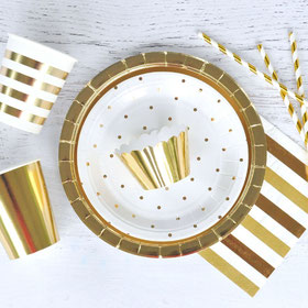 THEME DECO BAPTEME BLANC ET OR- WHITE AND GOLD BATISM DECORATION