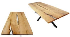 Lange-Tischplatte-aus-Eiche-mit-Epoxidharz