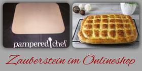 Pizzastein Zauberstein im Pampered Chef Onlineshop kaufen