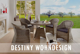 Destiny Wohndesign Wohnen Style Loungemöbel Teakmöbel Destiny Collection