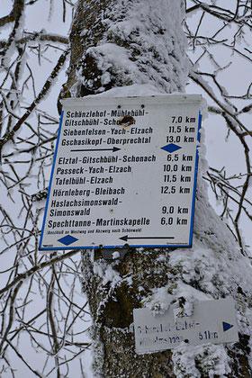 eplatzer, Schwarzwald, Wanderschild, Rohrhardsberg