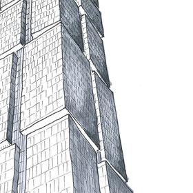 18 Blackfriars Road Residential Tower In London, Sketch by Heidi Mergl Architect, Design by WilkinsonEyre