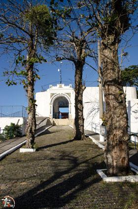 Brasilien - Südamerika - Motorrad - Weltreise - Rio de Janeiro - Forte de Copacabana - Blick auf die Christus Statue