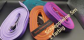 Schleppleine, Schleppleine 1-5 Meter farbig, Hundeleine, Hundesport, Waldspaziergang