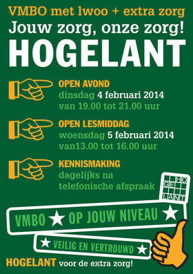 Open dag Hogelant