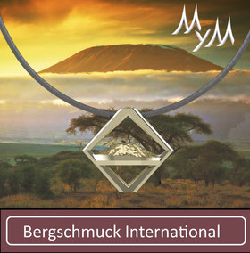 Bergschmuck Collier Kette International Kilimanjaro