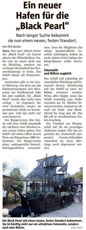 Hellweger Anzeiger vom 10.10.2020