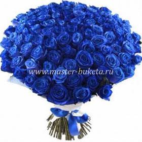 101 синяя роза в Подольске
