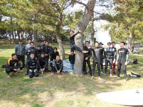 team speedwall1スクール画像1 ウインドサーフィン SUP 始めるなら神奈川県横浜市金沢区 海の公園のスピードウォール