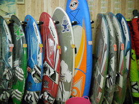 windsurfing1 スクール画像1 ウインドサーフィン SUP 始めるなら神奈川県横浜市金沢区 海の公園のスピードウォール