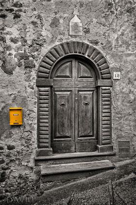 Tür rustikal Toskana colorkey