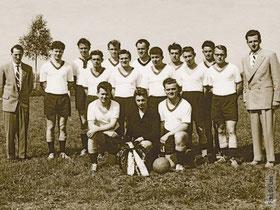 Die Meistermannschaft von 1960