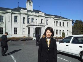 国の重要文化財に指定されている旧山口県庁(山口市)