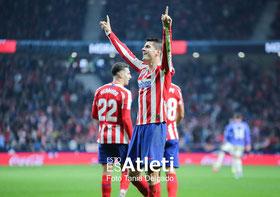 Álvaro Morata, Atlético de Madrid, la liga, fotografia deportiva, metropolitano, athletic, bilbao, gol, futbol