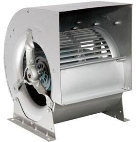 вентилятор двухстороннего всасывания