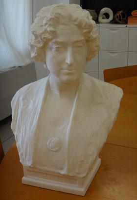 Busto del escultor Mariano Benliure. Modelo para Fundición de una réplica actual.