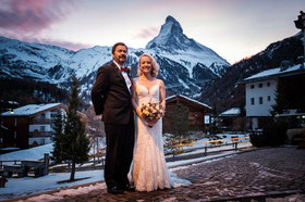 Destination Wedding Switzerland Lake Mountain Alps Summer Zermatt Matterhorn