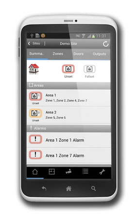 SPC App Android von Vanderbilt presented by SafeTech