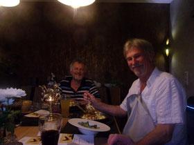 Ulrich Hens und Rolf Schmidt